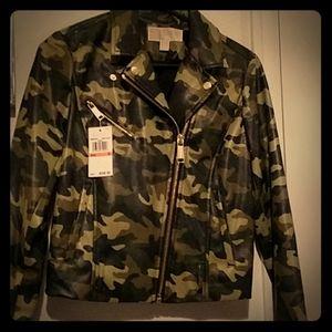 Michael Kors camouflage jacket